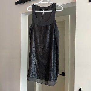 Kenzie Grey Sequin Tunic/dress